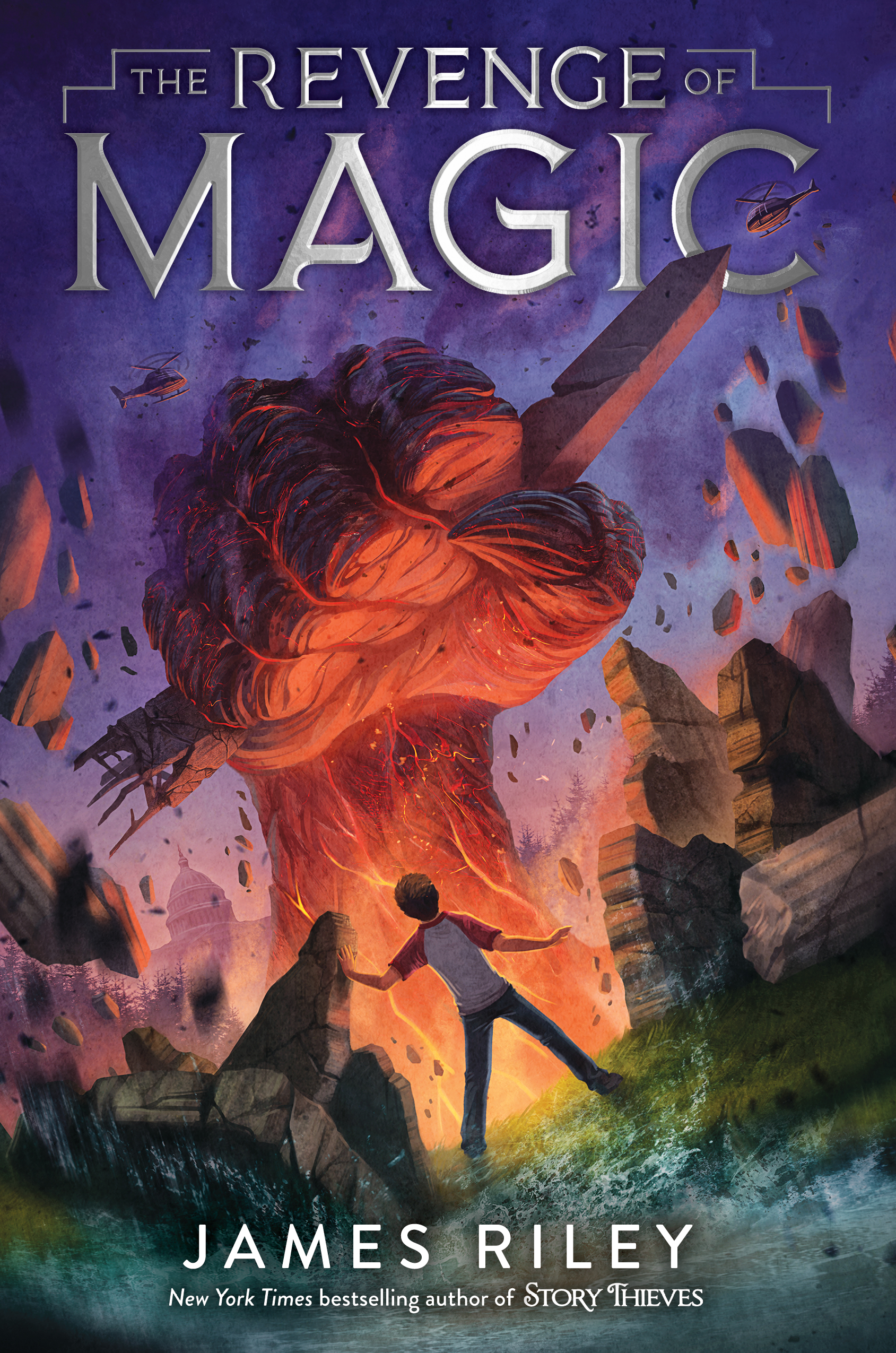Revenge of Magic novel
