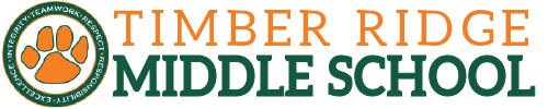 Timber Ridge Middle School logo centered